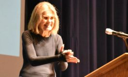 Steinem Shares Admiration for New Activists