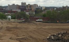 Site Prep for Chill Can Plant Shows Downtown Vista