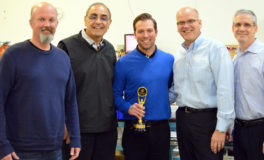 Central One Optical Employee Receives Award