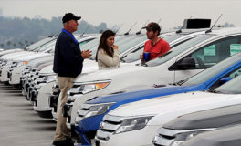 Domestic Auto Sales Down Across the Board