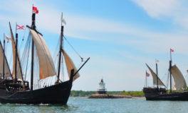 Tour Replicas of Columbus' Ships in Ashtabula