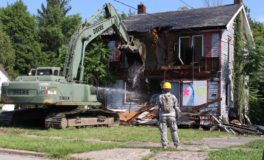 Ohio National Guard Razes Houses on South Side