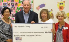 Navarros Donate $25K to United Way's Imagination Library