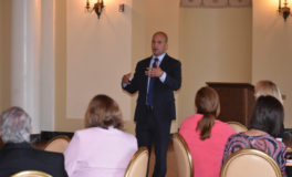 Schiavoni Engages Voters at 'Lattes & Legislators'