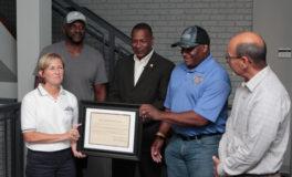 Franklin Recognizes Local 935's Renovation