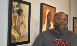 Wrongly Imprisoned, Towler's Art Displays Hope