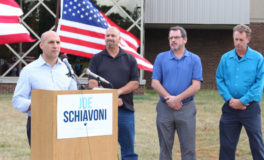 Schiavoni Outlines Business, Jobs Plans