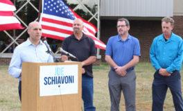 Schiavoni Outlines Business, Jobs Plans