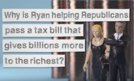 Ryan Defends Cutting Corporate Taxes