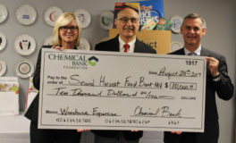 Chemical Bank Donates 10K for Second Harvest