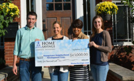 YNDC Receives $25K Check from Home Savings