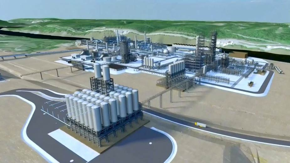shell petro cracker plant