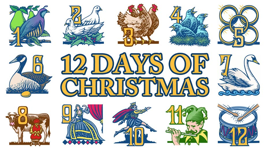 youngstown ohio true loves will be on their merry way to a more robust and satisfying holiday shopping season this year according to the pnc christmas - How Many Gifts In 12 Days Of Christmas