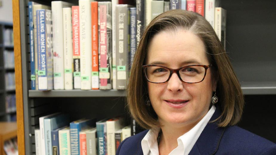 Aimee Fifarek took over as the Public Library of Youngstown & Mahoning County's executive director Dec. 29