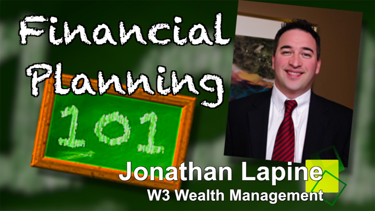 jonathan lapine financial planning 101
