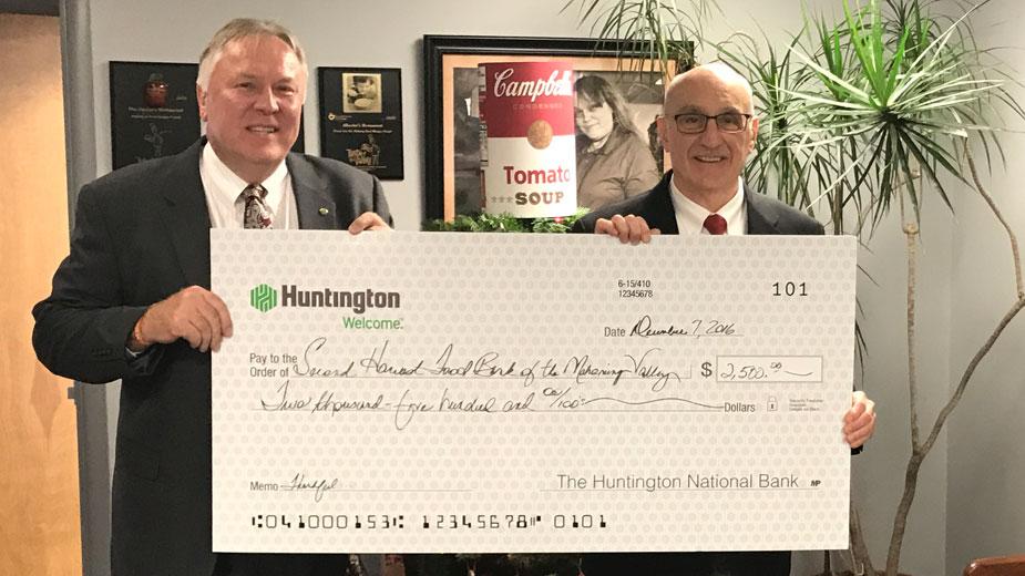 huntington bank second harvest food bank