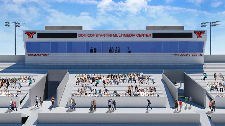 constantini multimedia center ysu stadium