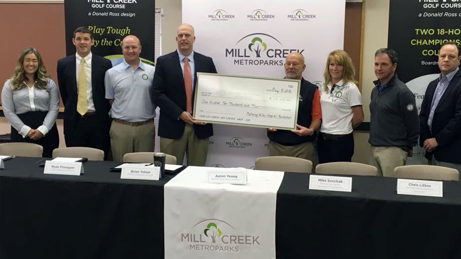 mill creek golf course mahoning valley hospital foundation American Junior Golf Association