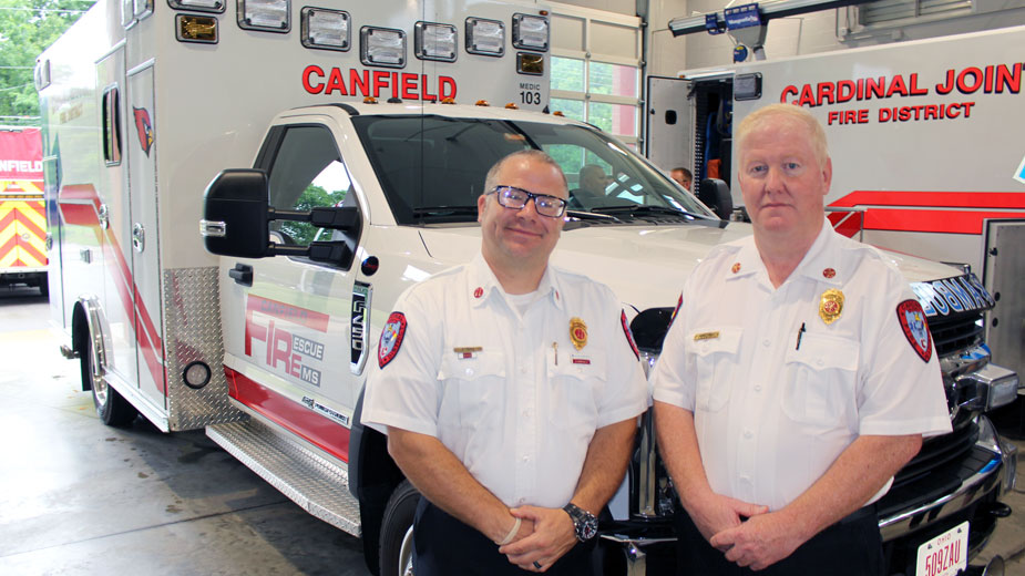 Canfield Township Begins 24/7 Ambulance Service