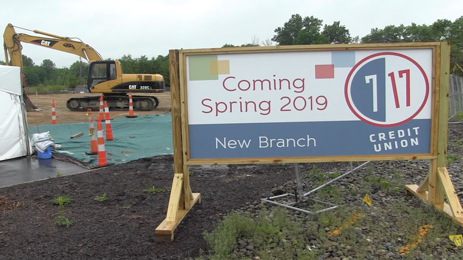 7 17 Credit Union Breaks Ground for New Larchmont Branch