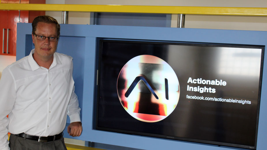 Actionable Insights Christens New Office, Capabilities