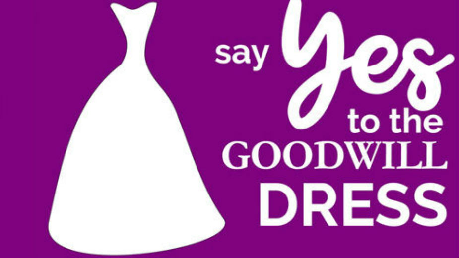 Goodwill Hosts Bridal Pop-Up Shop