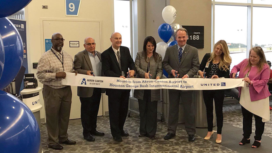 Akron-Canton Begins Nonstop Service to Houston