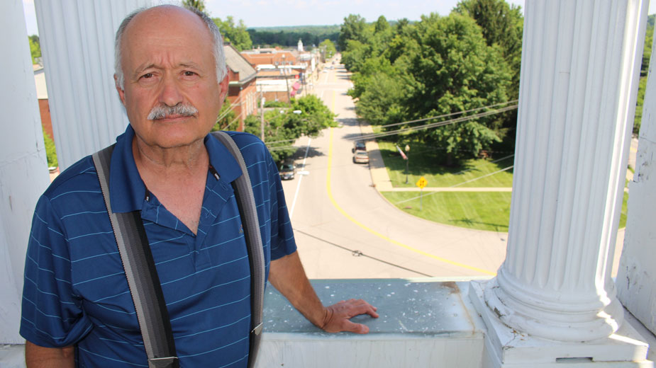 Adam Costarella bought the Olde Courthouse Building in canfield in 1982