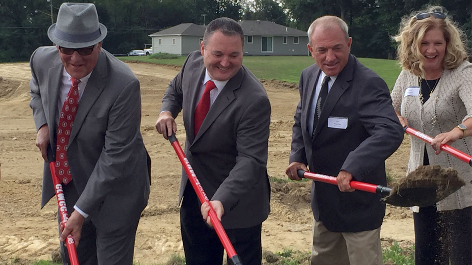 Work has begun on what is an estimated $12 million Community Literacy Workforce and Cultural Center at the campus of the Campbell Middle School at Community Circle Road