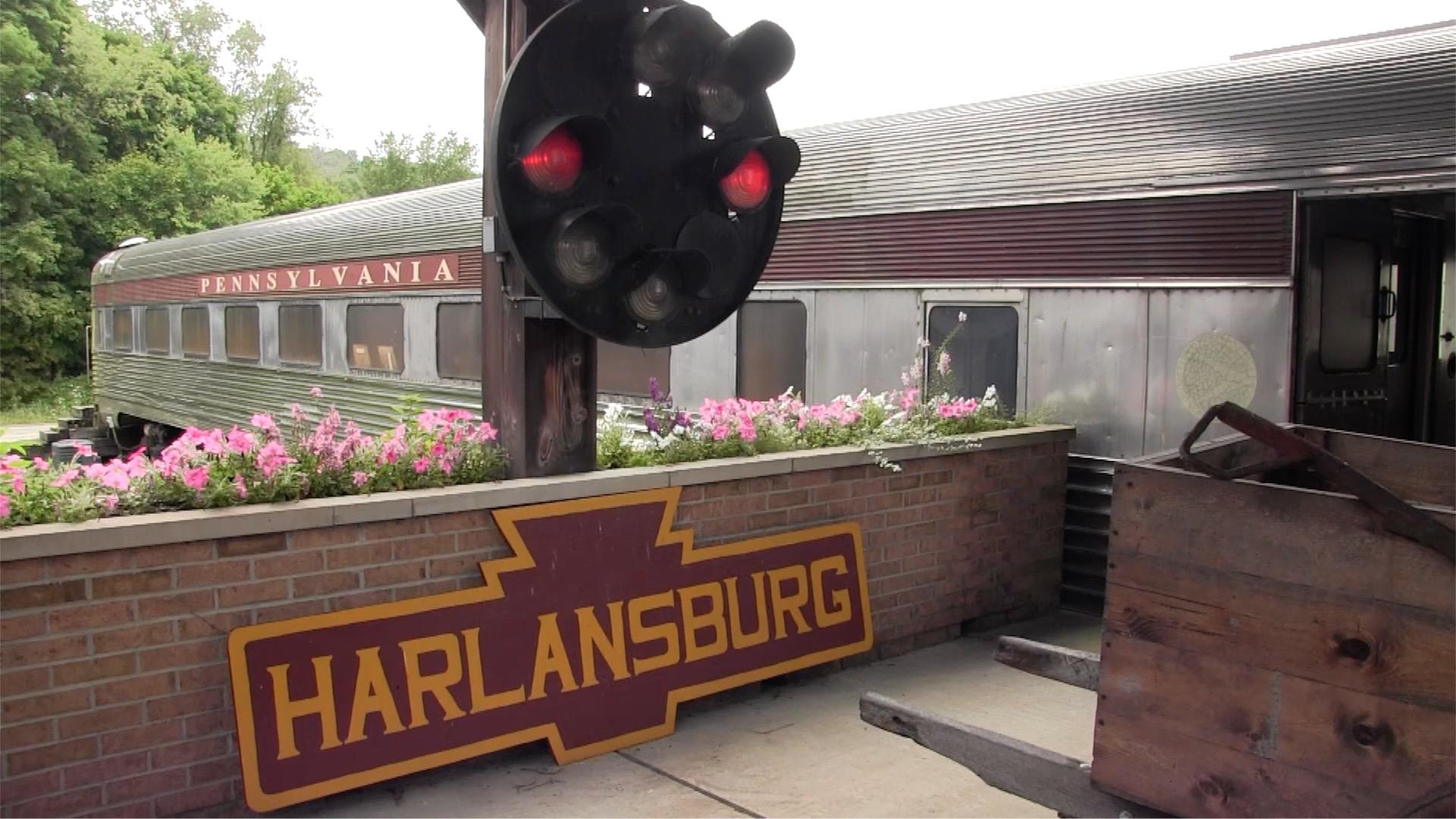 harlansburg station New Castle