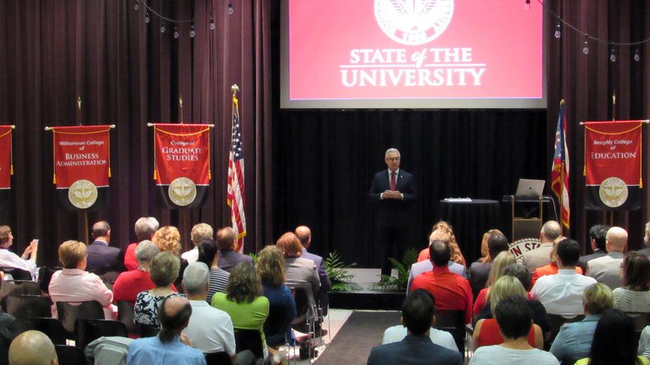 Tressel Touts University Accomplishments, Impact