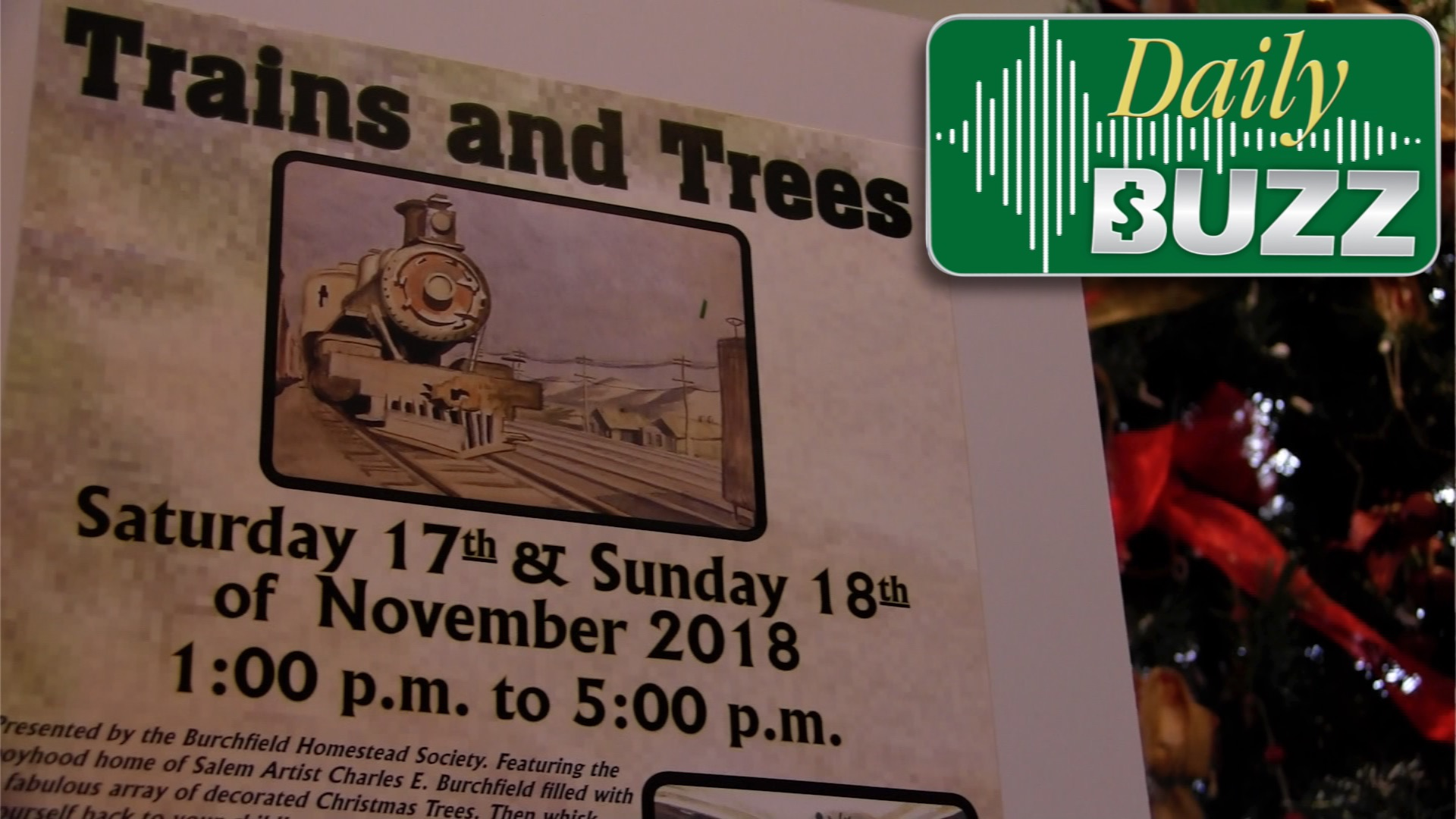 A Christmas Trees and Trains Show