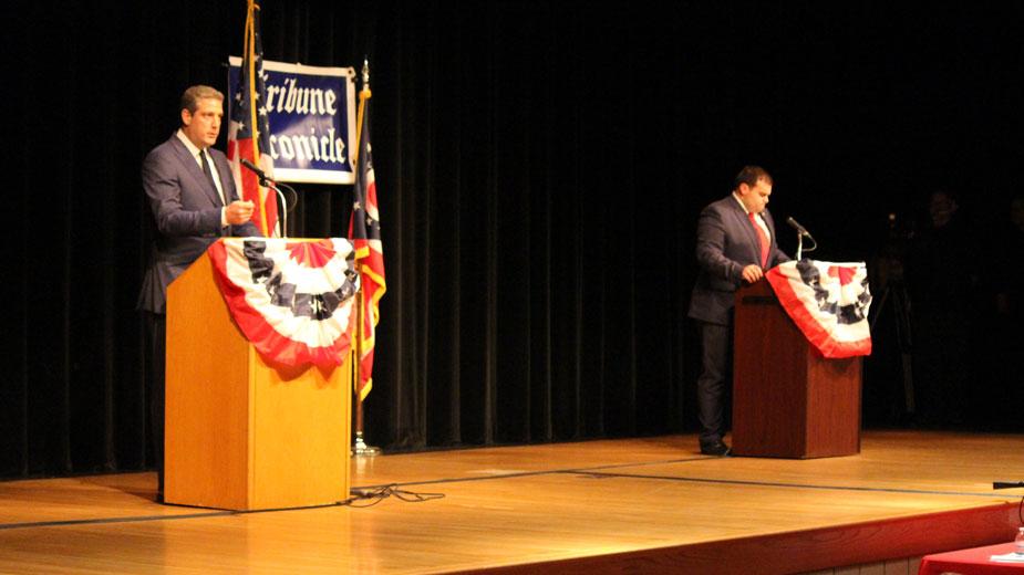 Ryan, DePizzo Debate Days Before Election Day