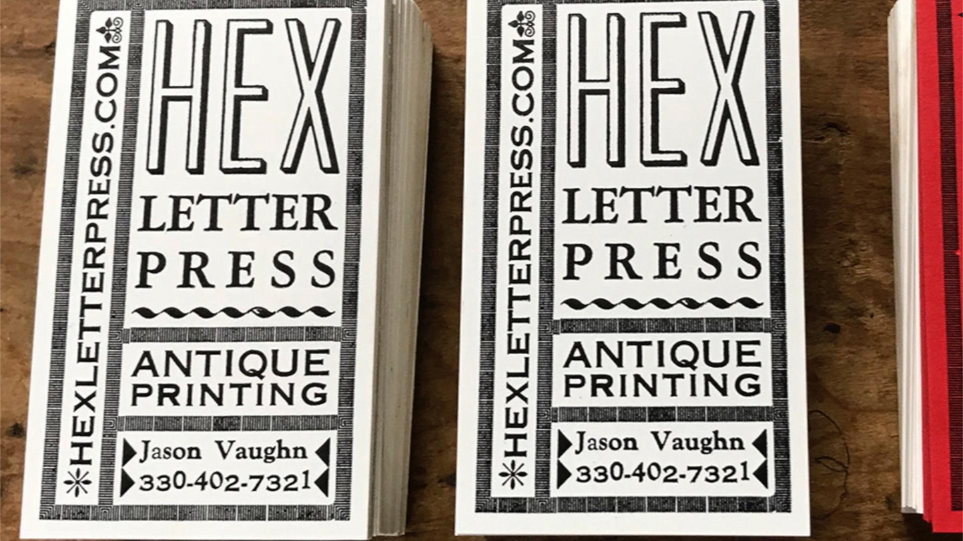 Old Printers, Modern Designs