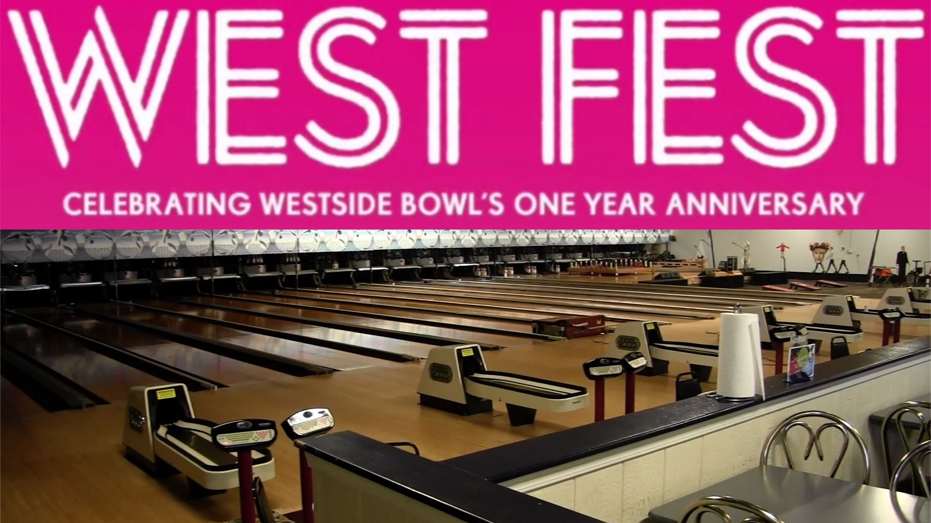 Westside Bowl Celebrates Anniversary