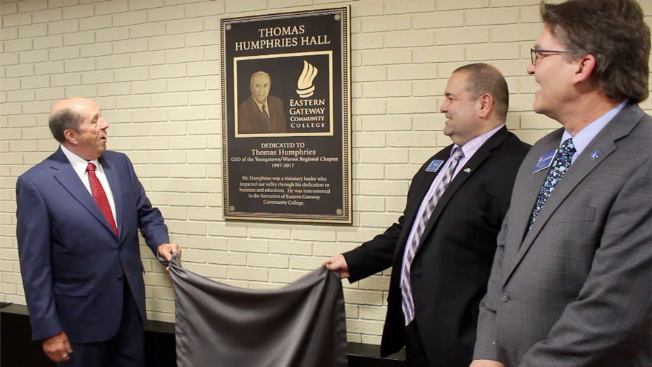 EGCC Names Building 'Thomas Humphries Hall'