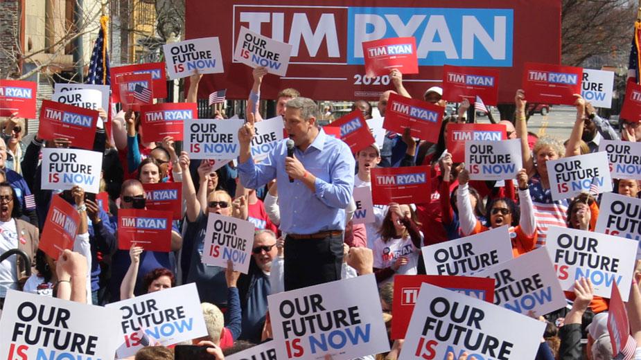 Tim Ryan Holds Presidential Rally