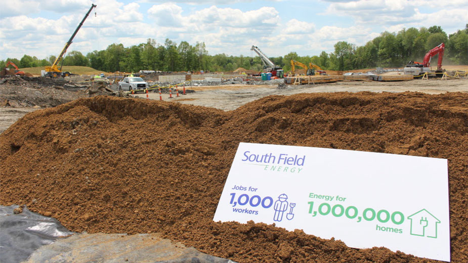 South Field Energy Groundbreaking