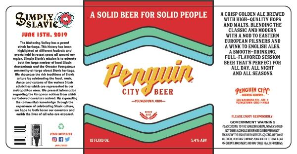 Penguin City Beer présente le label Simply Slavic Tribute  - Bière artisanale 2