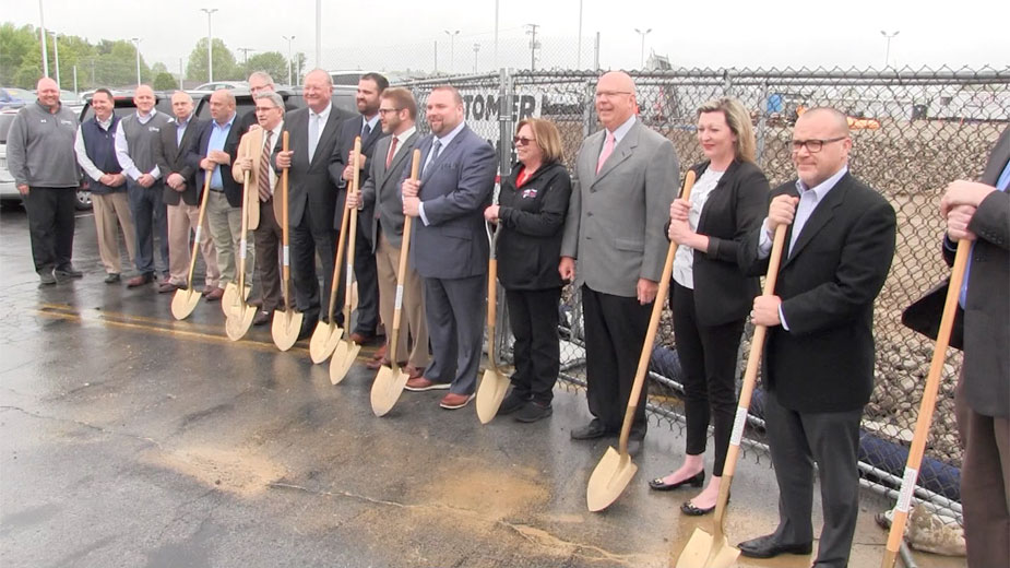 Sweeney Begins Construction on New HQ