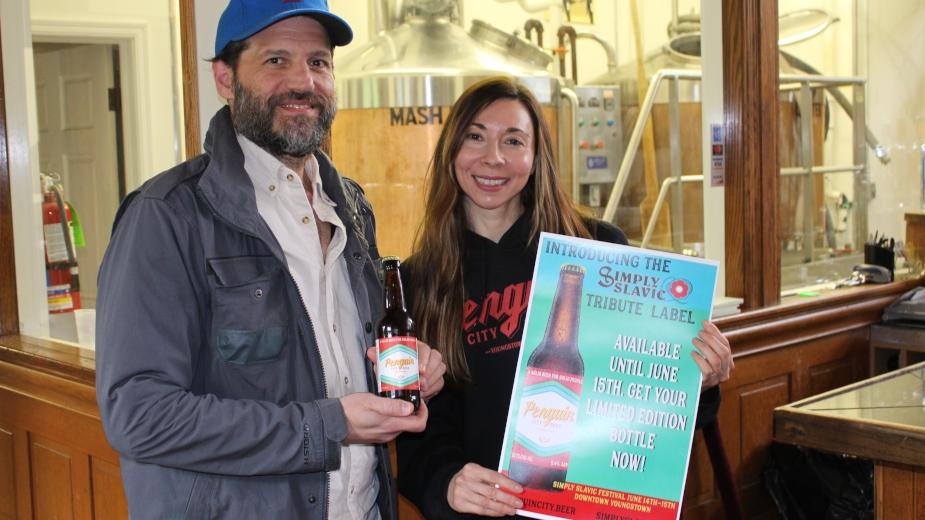 Penguin City Beer présente le label Simply Slavic Tribute  - Bière artisanale 1