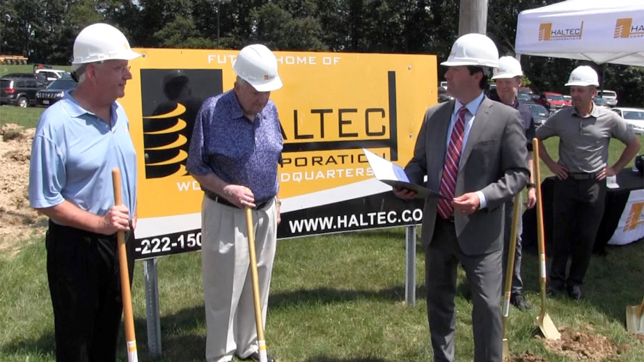 Haltec Breaks Ground on Addition