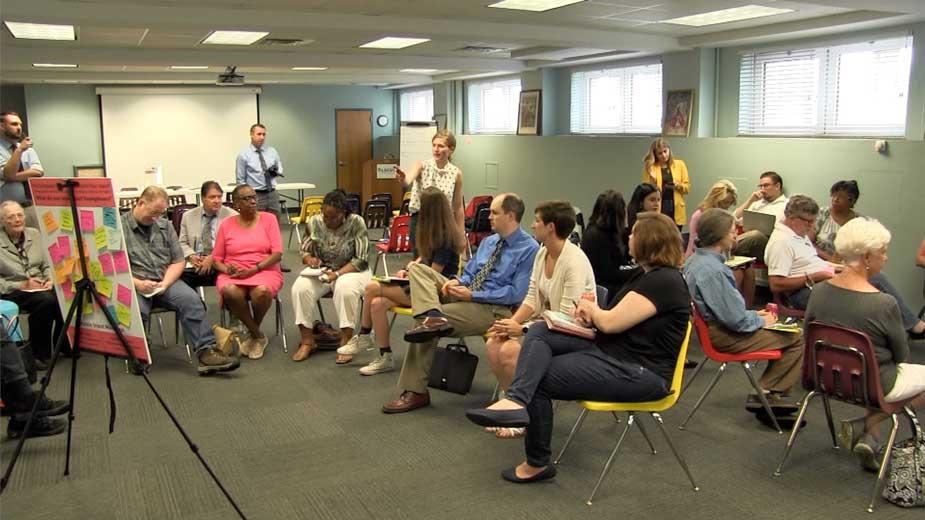 Compass Experiment Holds Public Forum