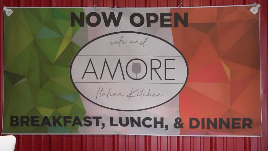 AMORE Café & Italian Kitchen Opens