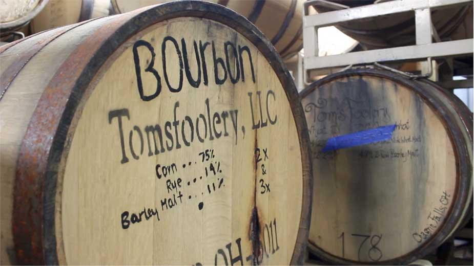Tom's Foolery Distillery Burton