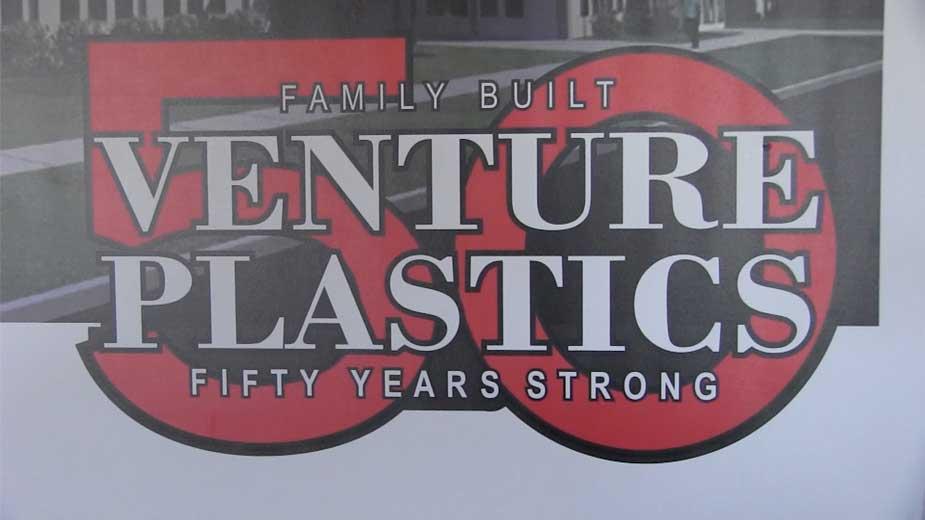 Venture Plastics Inc Celebrates 50 Years