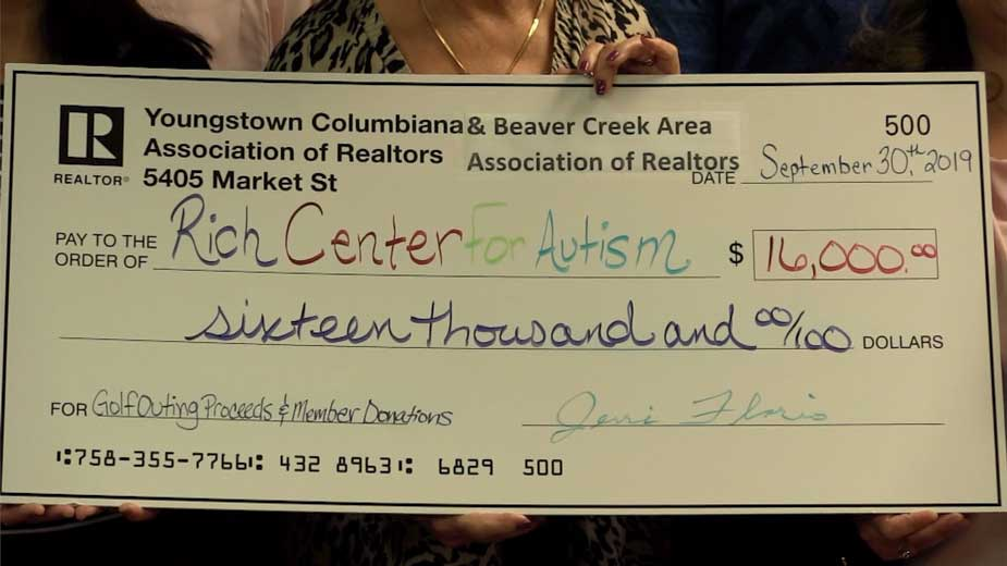 Rich Center For Autism Receives $16K