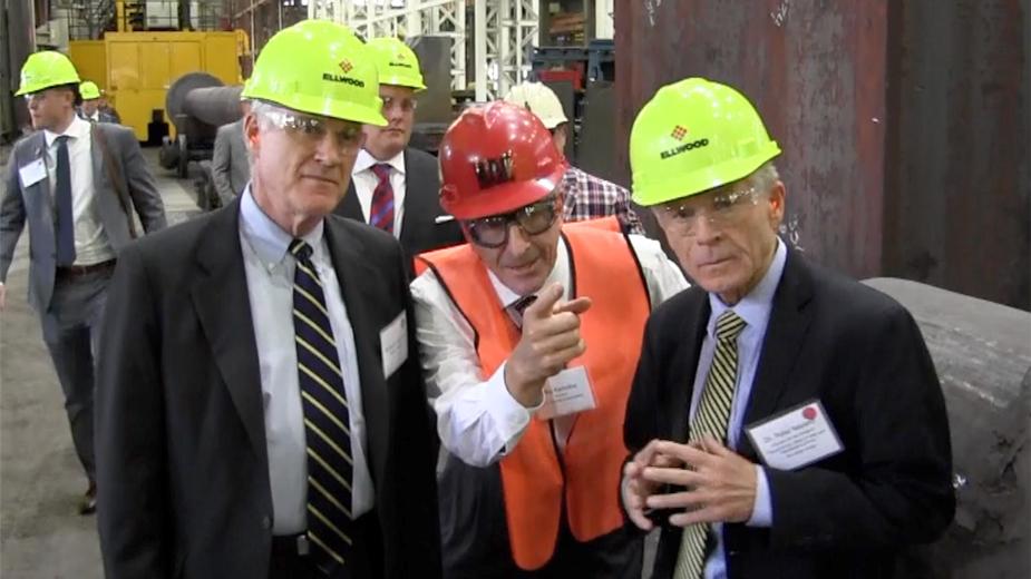 Navarro Talks Steel Tariffs
