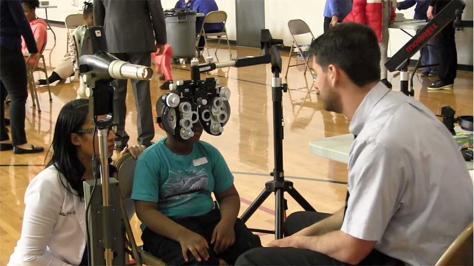 Youngstown Students Receive Gift of Sight