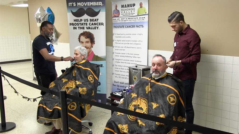 Fitch Hosts Shave-Off